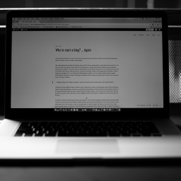 Why to start a blog? … Again